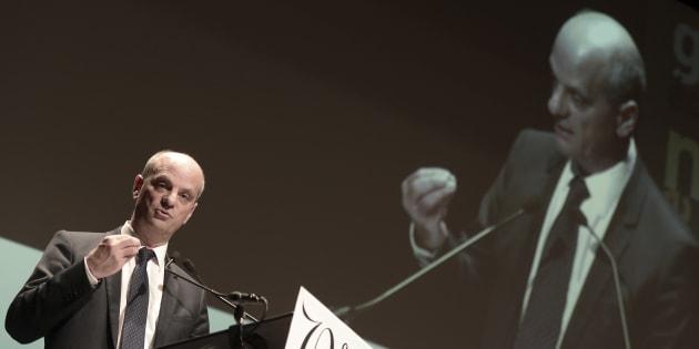 """Le ministre de l'Education Jean-Michel Blanquer distille sa méthode anti-""""Grand soir""""."""
