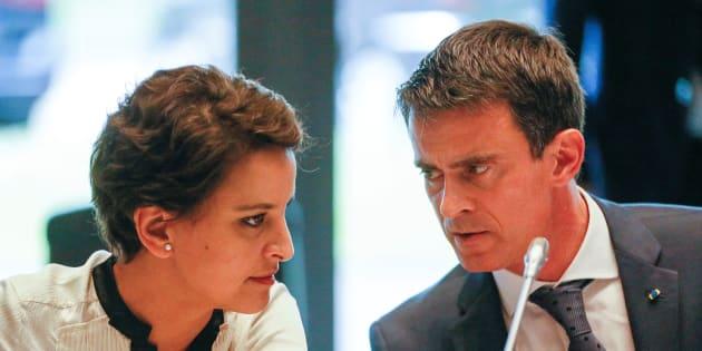 Najat Vallaud-Belkacem soutient Manuel Valls pour la primaire