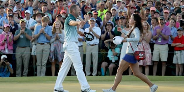 He won golf. Together they won awesome.
