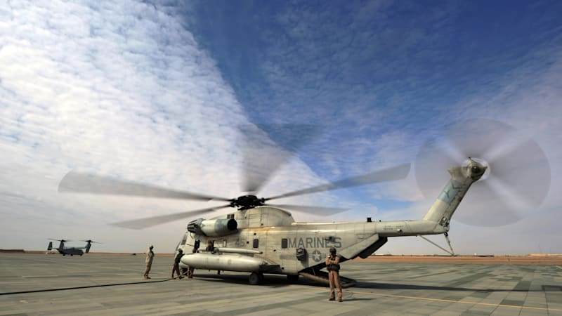 Marine pilots continue to fall short of flight training time minimums