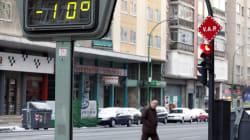 Una ola de frío siberiano amenaza