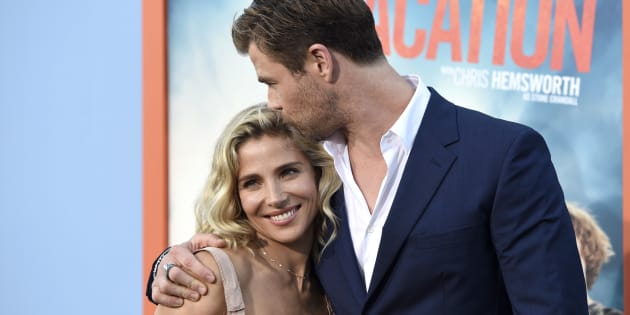 Elsa Pataky, left, and Chris Hemsworth are still very much in love.