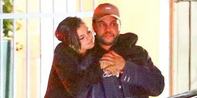 Selena Gomez et The Weeknd à Los Angeles.