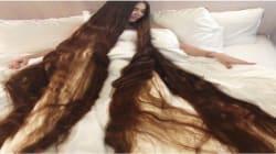27-Year-Old Eastern-European 'Real Life Rapunzel' Has Hair 2.3 Meters