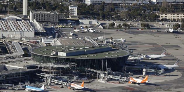 """Une enquête ouverte à l'aéroport de Nice après un """"incident grave"""" (photo d'illustration de l'aéroport de Nice)"""