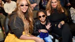 La borsa di Louis Vuitton indossata dalla figlia di Beyoncé fa infuriare