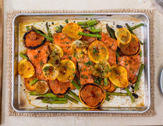 Best Bites: Honey citrus salmon sheet pan dinner