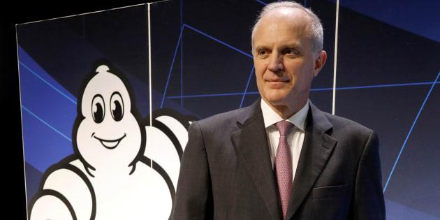 Le président exécutive de Michelin, Florent Menegaux.