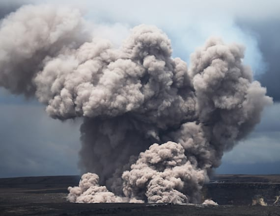 Explosive eruption rocks active Hawaii volcano