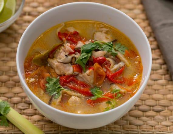 Best Bites: Easy Instant Pot tom yum soup