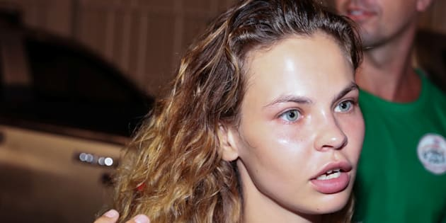 Anastasia Vachoukevitch en Thaïlande le 15 janvier 2019.