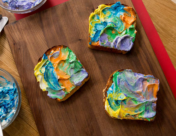 Best Bites: Tie dye toast