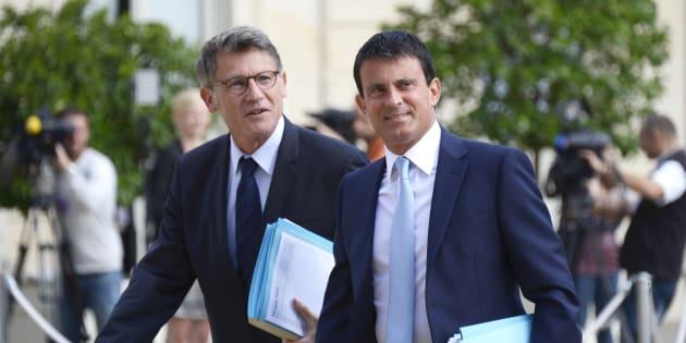 Vincent Peillon et Manuel Valls devraient s'affronter à la primaire.