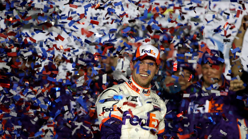Joe Gibbs dedicates Daytona 500 victory to late son