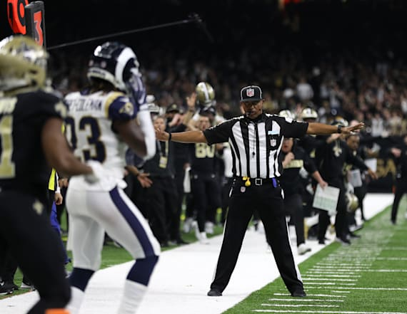 NFL moved refs from hotel after Saints-Rams fiasco