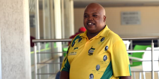 Collen Maine at the Nasrec Expo Centre for the ANC national conference. December 14, 2017, in Johannesburg.
