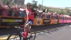 Il a célébré sa victoire sur le Tour d'Italie trop tôt. Beaucoup trop