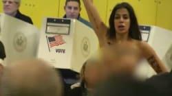 Deux Femen arrêtées dans le bureau où doit voter