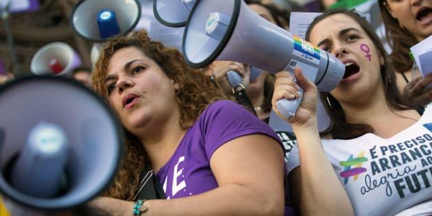 """""""As mulheres têm trazido à tona uma pauta central de direitos humanos, incluindo os direitos sexuais e reprodutivos"""", afirmou Nadine Gasman, da ONU Mulheres."""