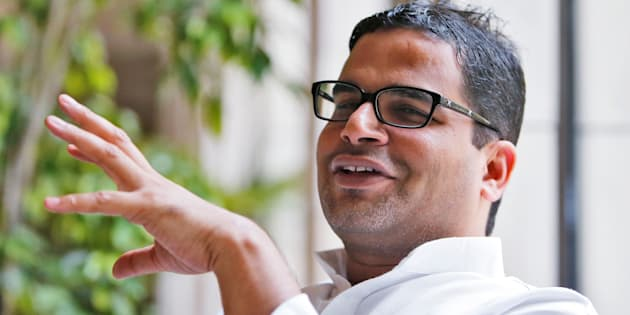 Prashant Kishor, political strategist of India's main opposition Congress party, is pictured at a hotel in New Delhi, India May 15, 2016.