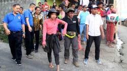 Rescatados más de 540 montañeros atrapados en un volcán de Indonesia, entre ellos, cinco