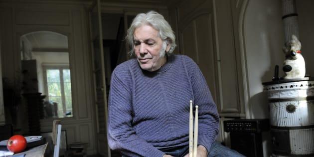 Pierre Barouh chez lui à Paris en 2008.
