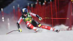 La skieuse Valérie Grenier se donne à fond dans tout ce qu'elle