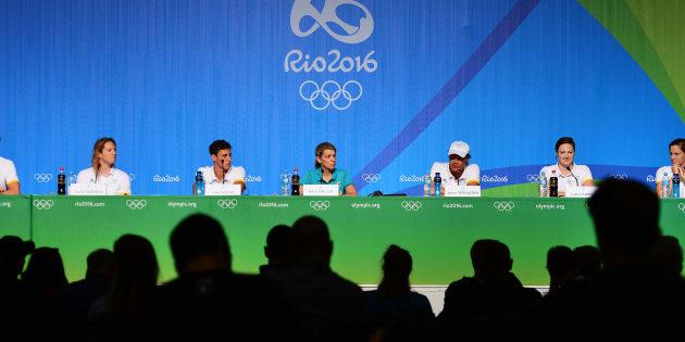 Half of Rio was there.