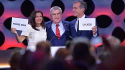 Paris-2024: revivez l'annonce du CIO et découvrez les