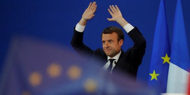 Emmanuel Macron a 15 jours pour convaincre la France qui doute. REUTERS/Philippe Wojazer