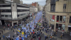 Plus de 30 000 manifestants à Glasgow pour l'indépendance de