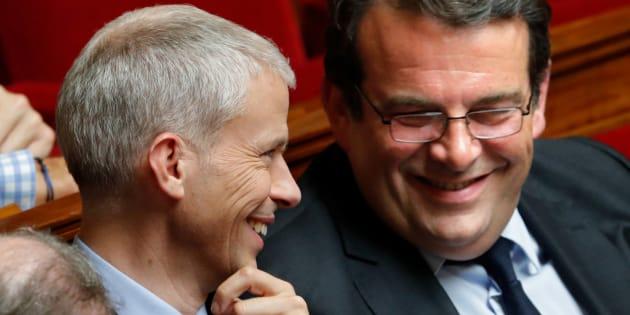"""""""Il n'y a plus House of Cards mais il reste les Républicains"""", ironise Solère."""