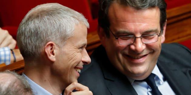 Les Constructifs Franck Riester et Thierry Solère.