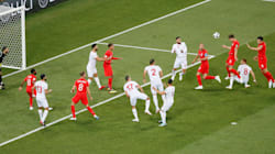 Regardez les deux buts de Kane qui ont fait plier la Tunisie face à