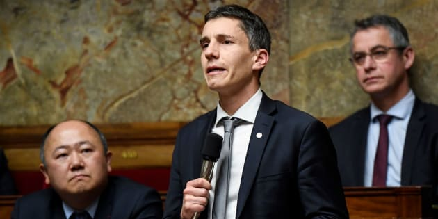 Bruno Studer à l'Assemblée nationale le 12 décembre 2018.
