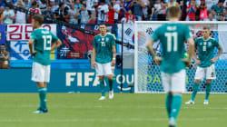 L'Allemagne éliminée du Mondial après sa défaite face à la Corée du