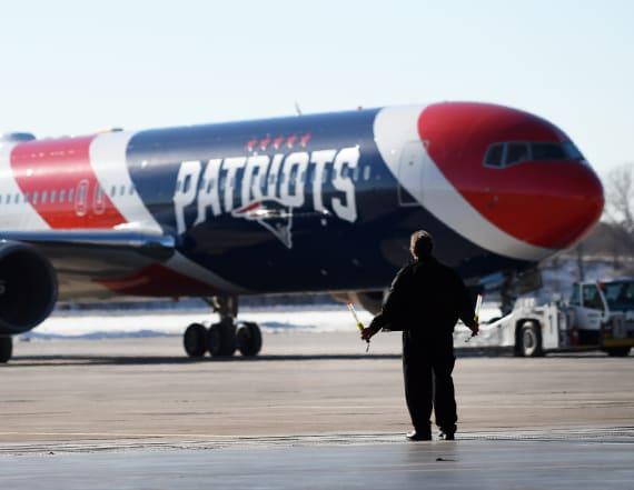 Patriots plane flew Parkland families to DC rally