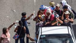 Al menos dos hondureños han muerto en el camino de la caravana