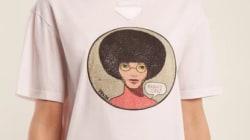 Ce tee-shirt Prada à 350€ à l'effigie d'Angela Davis ne fait (clairement) pas