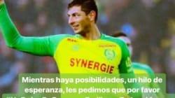 Lionel Messi demande la reprise des recherches pour Emiliano