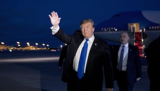 L'urgence nationale décrétée par Trump contestée en justice par 16