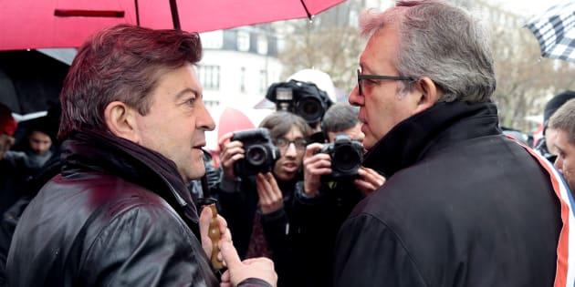 Jean-Luc Mélenchon et Pierre Laurent du temps du Front de gauche