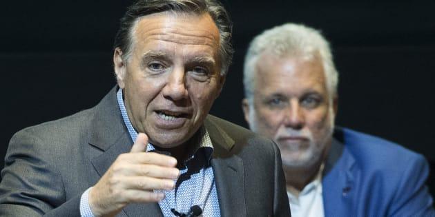 Le Parti libéral du Québec de Philippe Couillard continue de chauffer la Coalition avenir Québec de François Legault dans les sondages.