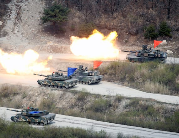 South Korea, US hold drills to remove N. Korea WMDs