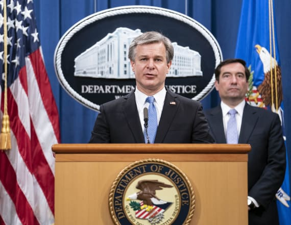 DOJ charges 8 in alleged Chinese surveillance effort
