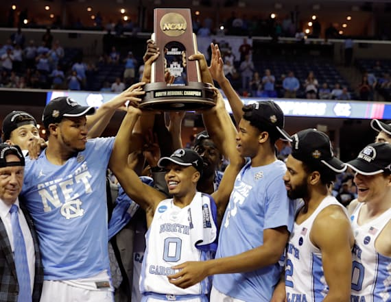 UNC new betting favorite in NCAA tournament