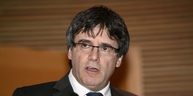 L'Espagne veut à nouveau faire extrader Carles Puigdemont