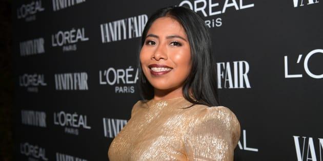 Yalitza Aparicio en West Hollywood el martes 19 de febrero.