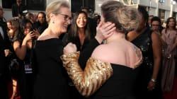 Kelly Clarkson se comportó como #FanFromHell con Meryl Streep en los Golden