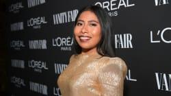 Yalitza Aparicio 'vistió de oro' en la fiesta de 'Vanity
